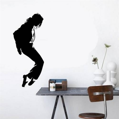 Adesivo de Parede Michael Jackson 2