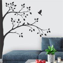 Adesivo de Parede - Ninho dos Pássaros