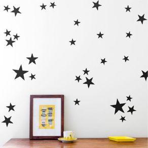 Adesivo de Parede Stickers de Estrela Banheiro Lux ST1500011-10AO