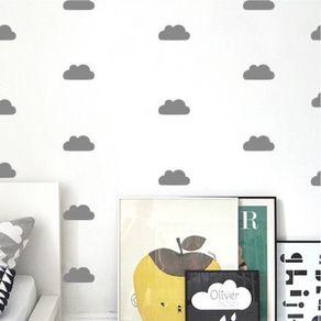 Adesivo de Parede Stickers de Nuvens Quarto Oliver ST1500012-AO