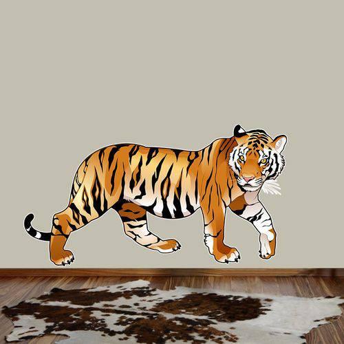Adesivo de Parede Tigre Bravo