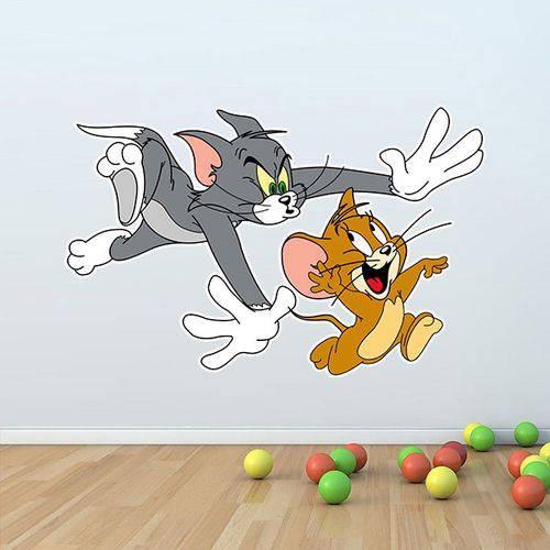 Adesivo de Parede Tom e Jerry