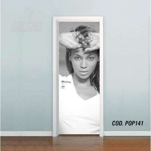 Adesivo de Porta Beyoncé Knowles #04