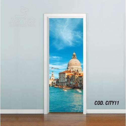 Adesivo de Porta Cidade Italia #02