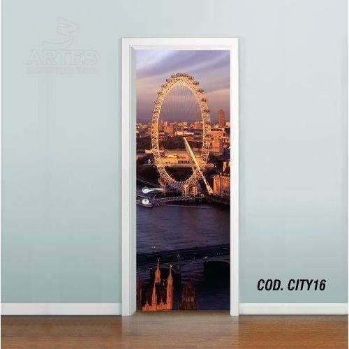 Adesivo de Porta Cidade Londres #01