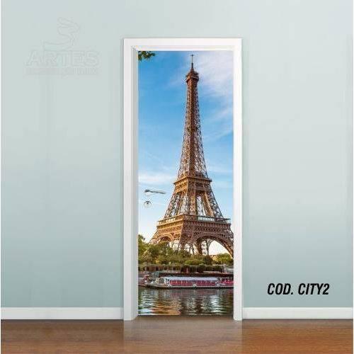 Adesivo de Porta Cidade Paris #02