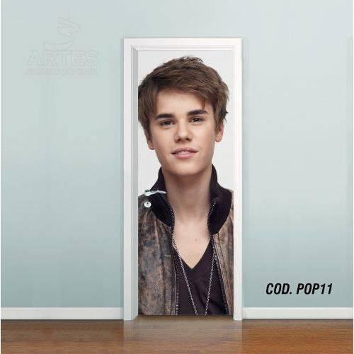 Adesivo de Porta Justin Bieber #05