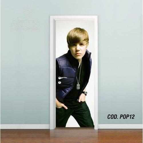 Adesivo de Porta Justin Bieber #06