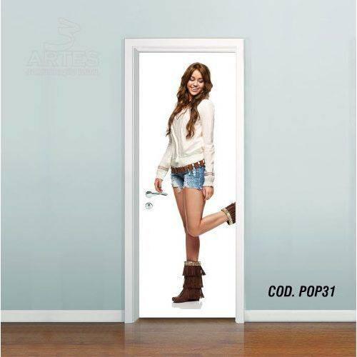 Adesivo de Porta Miley Cyrus #03