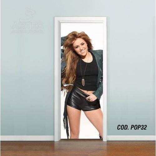 Adesivo de Porta Miley Cyrus #04
