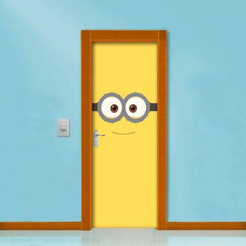 Adesivo de Porta Minions Amarelo
