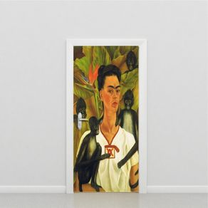 Adesivo de Porta Paisagem Sala Frida PO517027