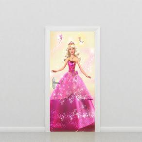 Adesivo de Porta Quarto Barbie PO517060