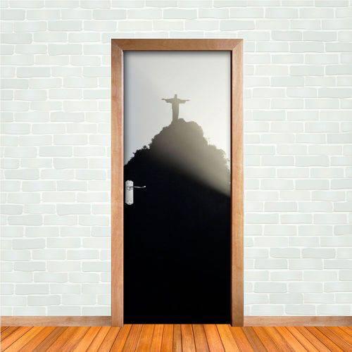 Adesivo de Porta Rio de Janeiro Cristo