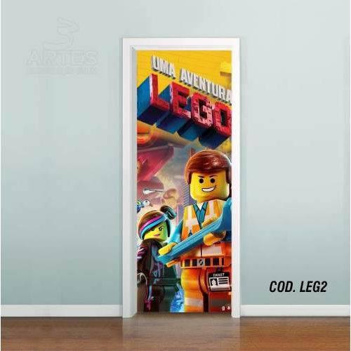 Adesivo de Porta uma Aventura LEGO #02