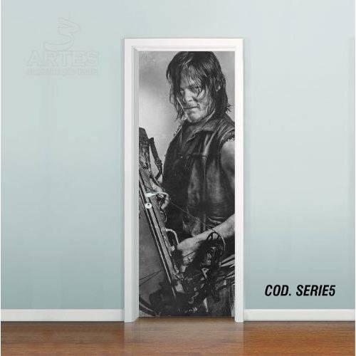 Adesivo de Porta Walking Dead Daryl #02