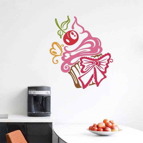 Adesivo Decorativo de Cozinha - Cupcake - N9201
