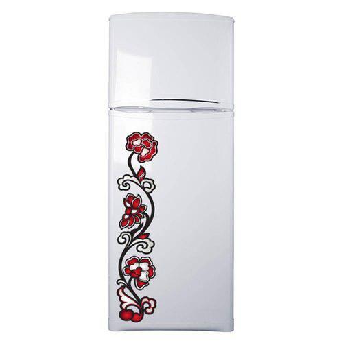 Adesivo Decorativo de Geladeira - Floral - 204gl