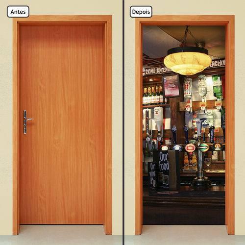 Adesivo Decorativo de Porta - Bar - 945cnpt