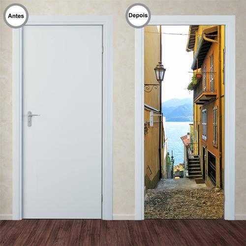 Adesivo Decorativo de Porta - Caminho - 100pt