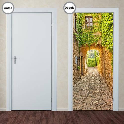 Adesivo Decorativo de Porta - Caminho - 118pt