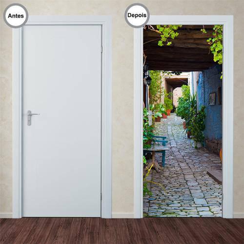 Adesivo Decorativo de Porta - Caminho - 154pt