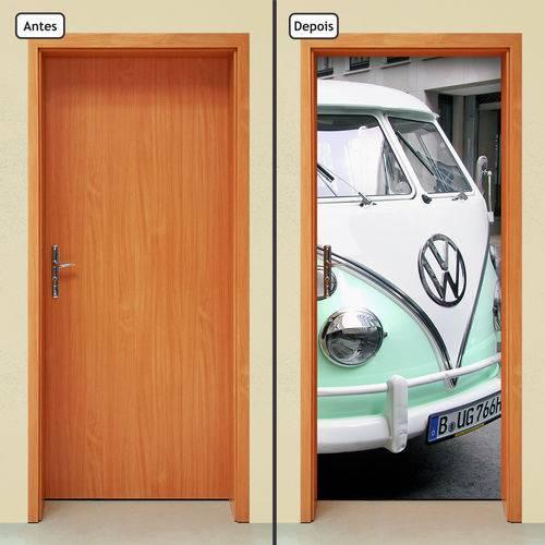 Adesivo Decorativo de Porta - Carro Vintage - 999cnpt