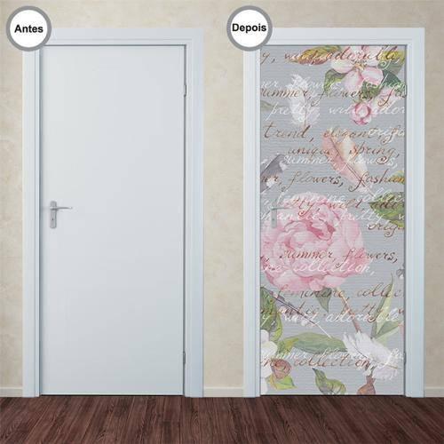 Adesivo Decorativo de Porta - Carta - 247pt