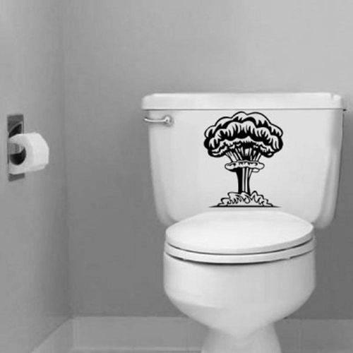 Adesivo Decorativo para Banheiro Explosão