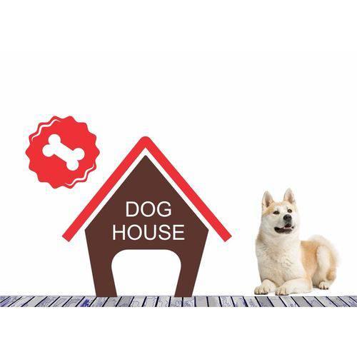Adesivo Decorativo Pet Casinha Cachorro Animal Estimação