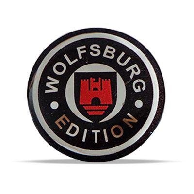Adesivo Emblema Wolfsburg Edition Logus 1995 1996 1997 Resinado Novo