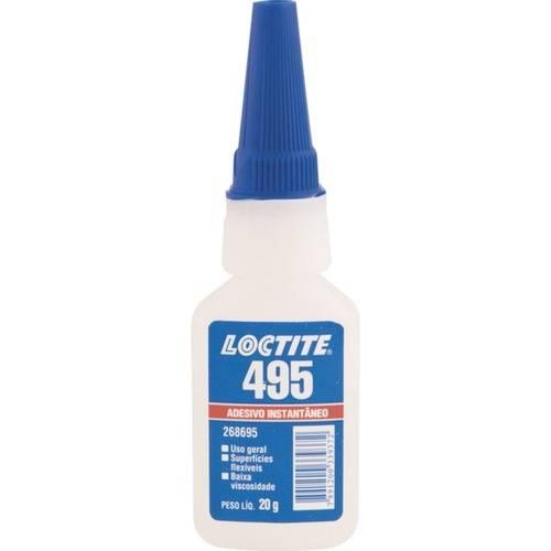 Adesivo Instantâneo 20 Gramas - 495 - Loctite
