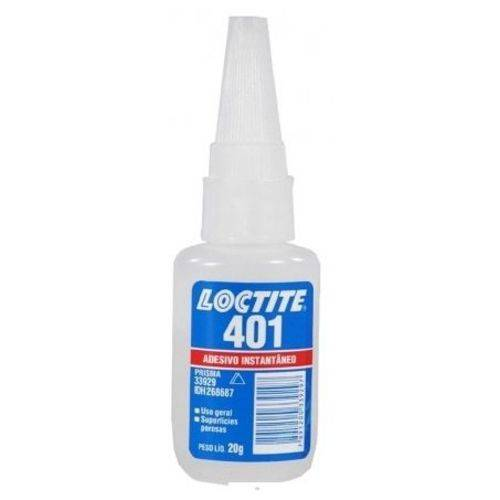 Adesivo Instantâneo 401 Uso Geral 20GR Loctite