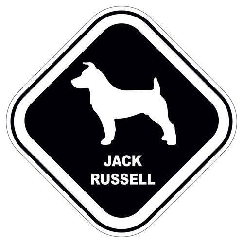 Adesivo Jack Russell