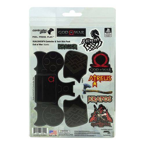 Adesivo para Controle God Of War Iconic 037925 Ps4