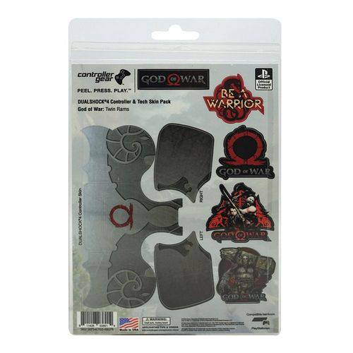 Adesivo para Controle God Of War Twin Rams 038014 Ps4