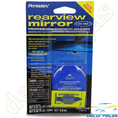 Adesivo para Fixar o Espelho Retrovisor Interno Permatex