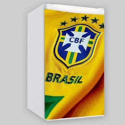 Adesivo para Frigobar - Camisa do Brasil