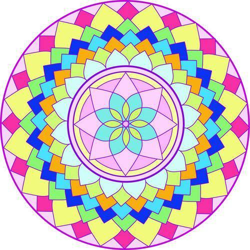 Adesivo para Parede Mandala da Alegria