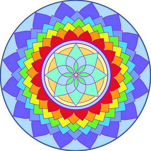 Adesivo para Parede Mandala da Criatividade