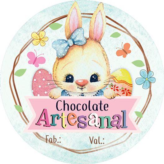 Adesivo para Pote APLP 001 Chocolate Artesanal