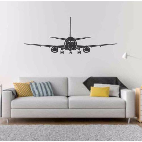 Adesivo Parede Avião Boeing Aviação Decoração