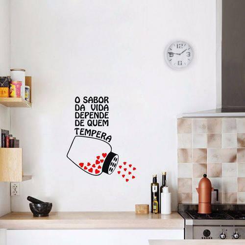 Adesivo Parede para Cozinha o Sabor da Vida