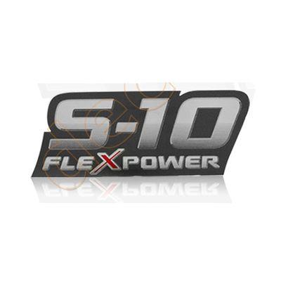 Adesivo S10 2009 2010 2011 - Modelo S10 FlexPower Vermelho