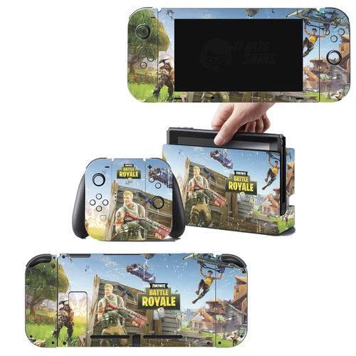 Adesivo Skin Nintendo Switch Fortnite