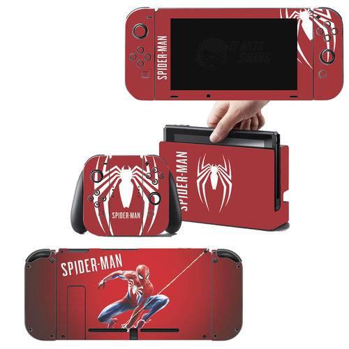 Adesivo Skin Nintendo Switch Spider Man Edição Limitada