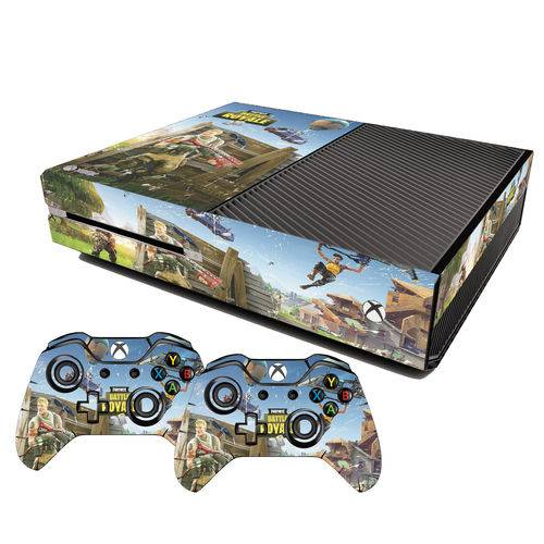 Adesivo Skin Xbox One Fat Fortnite