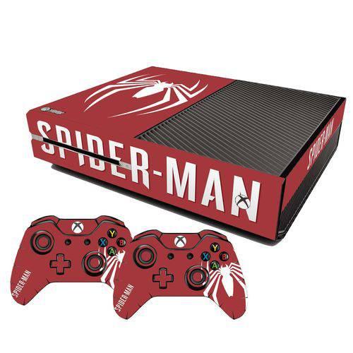 Adesivo Skin Xbox One Fat Spider Man Edição Limitada