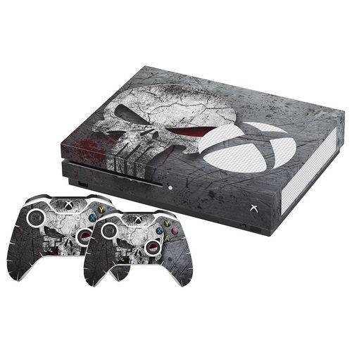 Adesivo Skin Xbox One SLIM Justiceiro The Punisher