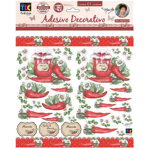 Adesivos Decorativos Toke e Crie Pimenta e Rótulos By Mamiko Tdm20 20646